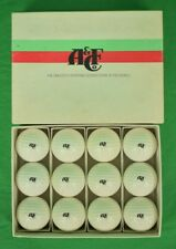 Boxed Set of 12 Abercrombie & Fitch Stamped Golf Balls