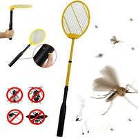 IdeaWorks Electric Telescopic Mosquito & Fly Swatter Bug Zapper Racket JB6285