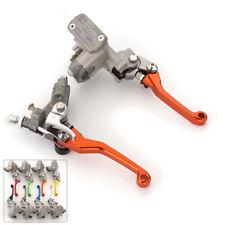 Pivot Hydraulic Brake Clutch Master Cylinder Reservoir Lever Fit Honda CR500R 01