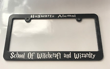 Hogwarts School of Witchcraft and Wizardry Harry Potter License Plate Frame