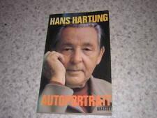 1976.autoportrait / Hans Hartung