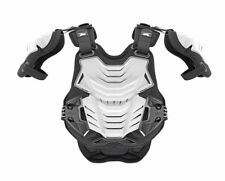 AXO Pentagon Morpho Frame Motocross Body Armour - White - (CE Level 2) One Size