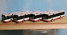 Kembel , Spur H0/Maßstab 1:87, Solaris Urbino  Bus Paket 4-teilig Stadt.wKrefeld