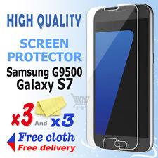 3 Nueva pantalla de protección de aluminio de alta calidad para Samsung Galaxy S7