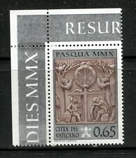 VATICAN 2010, EASTER RESURRECTION,  RELIEF ART, Scott 1424, MNH