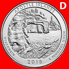 2018-D APOSTLE ISLANDS NATIONAL LAKESHORE WISCONSIN QUARTER UNCIRCULATED