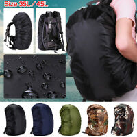 Dust Rain Cover Waterproof Bag for Backpack Rucksack Traval Camp Hiking 35L-45L