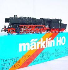 Marklin AC HO 1:87 DB BR-50 STEAM LOCOMOTIVE REVERSE DRIVE TENDER #3084 MIB`85!