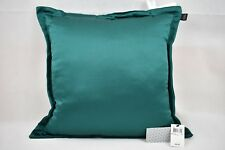 """New Hallmart Collectibles Emerald Green Solid Pillow 20"""" x 20"""""""