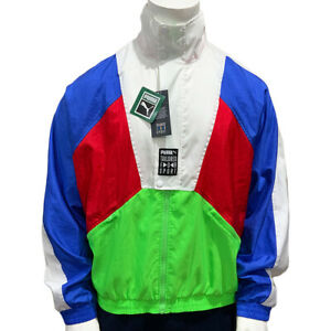 NWT PUMA TAILORED FOR SPORT OG AUTHENTIC MEN'S LONG SLEEVE TRACK JACKET SIZE L