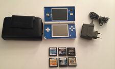 Nintendo DS Lite Polar Weiß - 6 Spiele (2x Pokemon 1x Mario)