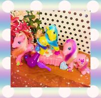 ❤️My Little Pony G3 Meadowbrook Pinkie Pie Avalonia Glitter Friendship Lot❤️