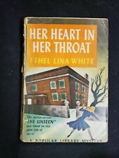 HER HEART IN HER THROAT Ethel Lina White Popular Library #54 basis THE UNSEEN
