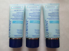 3 ORIGINAL LUMENE ARTIC TOUCH DUAL ACTION EXFOLIATING CREAM CLEANSER FREE SHIP