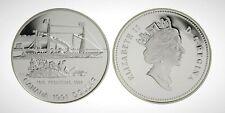 Canada 1991 The Frontenac Silver Dollar Encapsulated Coin!!
