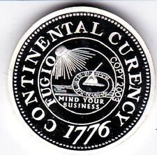 1776 Continental Currency Dollar  proof like finish Copy Coin