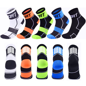 Outdoor Cycling Socks Breathable Reflective Running Fitness Sport Socks a Pair