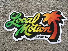 Local Motion hawaii surfboard vintage sticker HUGE Large size surfing 1980s surf