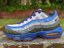NIKE AIR MAX 95 CROC REFLECTIVE BLUE RED sz 9.5 i 87 safari og 1 98 atmos