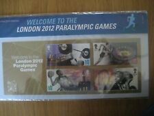 Royal Mail Mint stamps presentation pack London 2012 Paralym