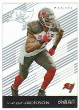 VINCENT JACKSON #12 Buccaneers WR 2015 Panini Clear Vision NFL Football Acetate