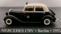 1/43 MERCEDES 170V 170 V TAXI BERLIN 1952 SIN BLISTER IXO ALTAYA ESCALA