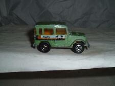 MAJORETTE TOYOTA 4X4 RALLY LAND CRUISER IN WELL USED CONDITION SEE THE PHOTOS