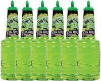 6 Pack Finest Call 1 Liter Premium Sour Apple Mix Mixer WEB Sweetener