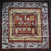 foulard carré en soie CARVEN 91 cm x 89 cm