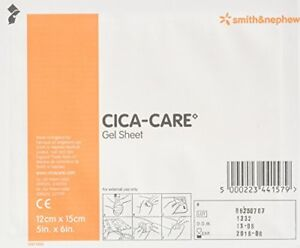Cica-Care Silicone Gel Sheeting 12cm x 15cm NEW