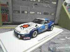 NISSAN DATSUN 260Z 260 Z Fairlady Le Mans #73 Buchet Haller Favresse Spark 1:43