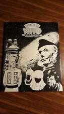 Doctor Who The Dalek Masterplan 1987 Zerinza Fanzine #14-16 Australian RARE Free