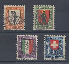 1923 Switzerland used Pro Juventute - childrens fund set of stamps (SG J24/7)