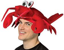 ADULT PLUSH LOBSTER HAT BEACH PARTY COSTUME ACCESSORY GC1528