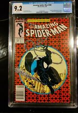 Amazing Spider-Man #300 cgc 9.2 WHITE PAGES 1st appearance of Venom