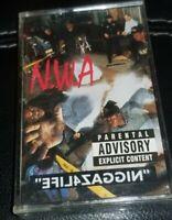 N.W.A. - NIGGAZ4LIFE CASSETTE TAPE 1991 NWA Dr. Dre Ice Cube Eazy-E DJ Yella DOC
