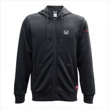 HONDA dry zip up parka Black NEW 100% polyester from JAPAN