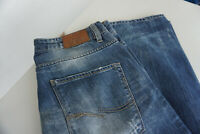 JACK & JONES Herren Jeans Hose 34/34 W34 L34 stonewashed used darkblue  TOP ad4
