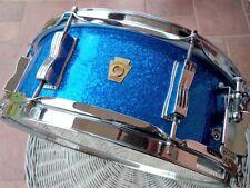 LUDWIG SNARE/ RULLANTEJAZZ FESTIVAL BLUE SPARKLE  Vintage 60s   batterie drum