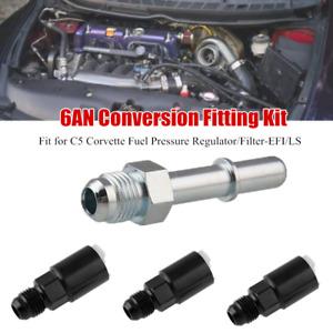 6AN Conversion Adapter Kit For C5 Corvette Fuel Pressure Regulator/Filter-EFI/LS