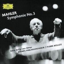 ANNE SOFIE VON OTTER/BOULEZ/WP - SINFONIE 3; 2 CD  6 TRACKS MAHLER CHOIR  NEU