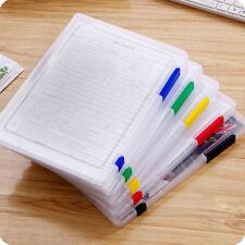 1pcs A4 Transparent Storage Box Clear Document Paper Filling Case File Plastic