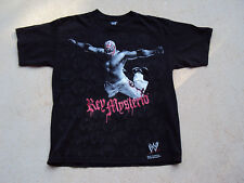 WWE Rey Mysterio 619 Official Black T-Shirt Size S Small 2008 Authentic Hybrid