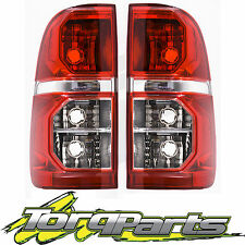 TAILLIGHTS PAIR SUIT HILUX TOYOTA 11-15 TAILLAMPS TAIL LIGHTS LAMPS