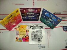 Print Master Platinum 7.0 Software 8 Disc Set for 486 PC & up Win 95  98 NT 4.0