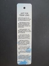 BOOKMARK Religious Scripture Just for Today Lord 1986 Antioch Sunshine Thoughts