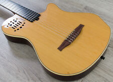 Godin Multiac Grand Concert SA Nylon Acoustic-Electric Guitar Natural HG + Bag
