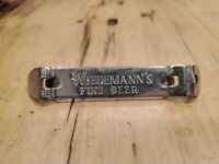 Vintage Wiedemann's Fine Beer Bottle Opener