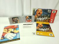 WCW Mayhem CIB (Nintendo 64 N64) & WCW/NWO Revenge Cart Tested