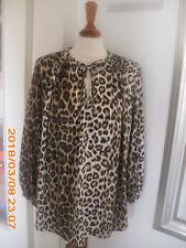 STEFFEN SCHRAUT Bluse Gr.42 / L Damen Bluse Leo Design Animal Print Tunika